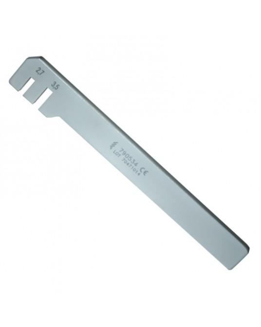 Wyginak do płytek 2,4 mm, 3,5 mm