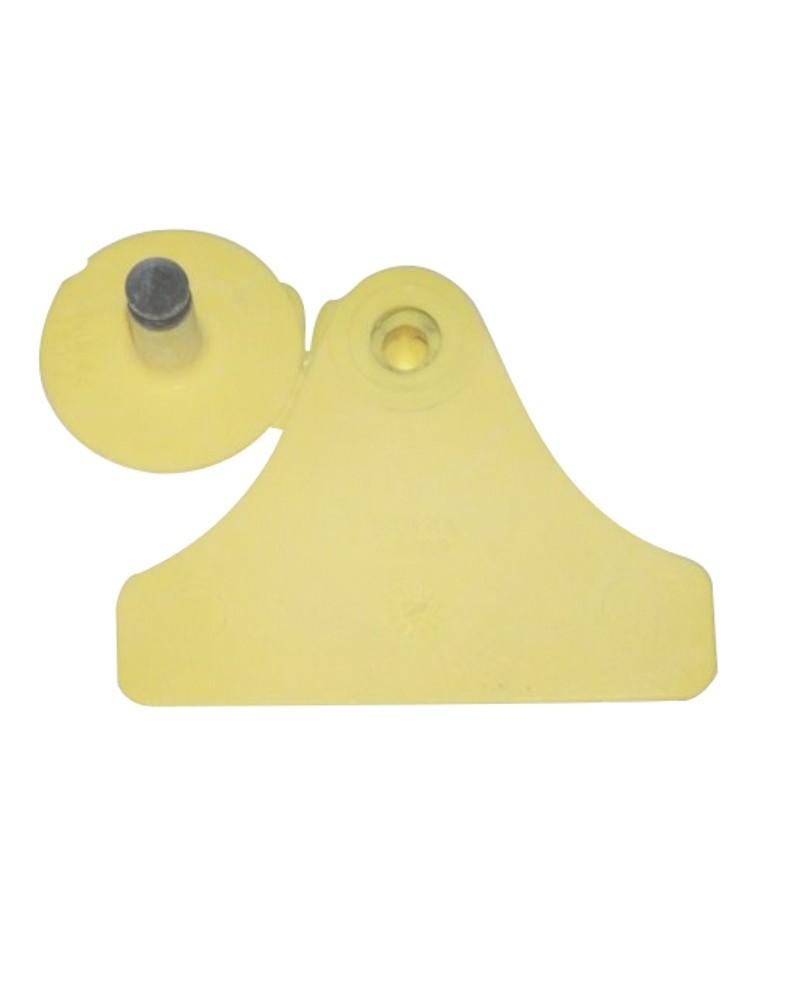 Kolczyk żółty - komplet