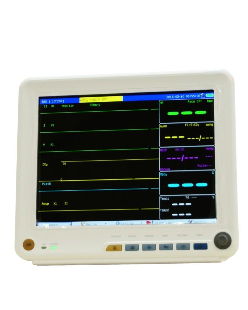Weterynaryjny monitor funkcji życiowych M800 z kapnografem (ETCO2)