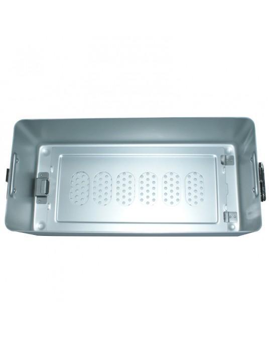 Pojemnik do sterylizacji z dwoma filtrami, 30x14x7 cm - Sklep medyczny / weterynaryjny - Sigmed