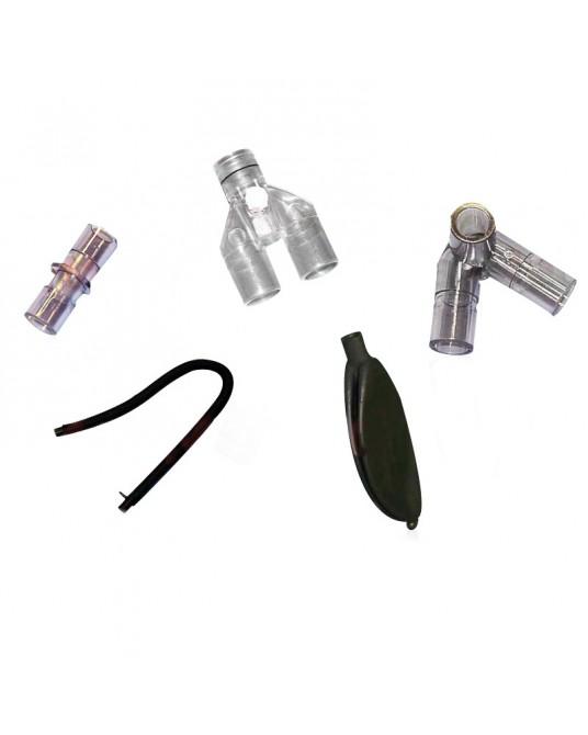 System węży dla dużych zwierząt z czarnej gumy - Sklep medyczny / weterynaryjny - Sigmed