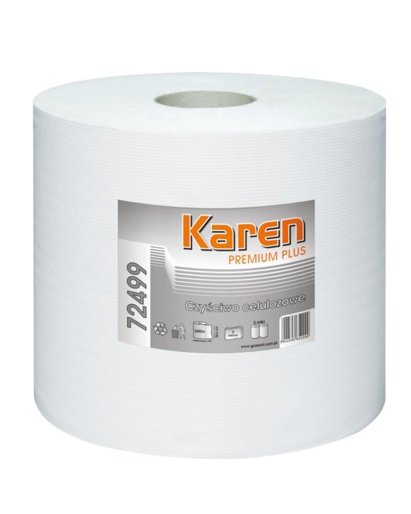 Czyściwo celulozowe - Karen Premium Plus 240m x 2 rolki