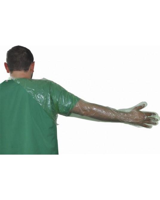 Rękawice rektalne 90 cm zakładane przez głowę, 50 szt.