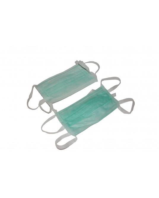 Trójwarstwowa maseczka operacyjna, wiązana