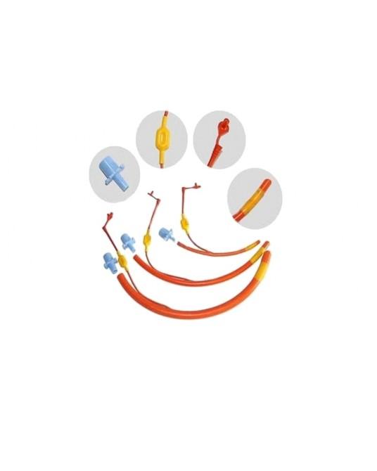 Rurka dotchawicza z balonem z miękkiej czerwonej gumy - Sklep medyczny / weterynaryjny - Sigmed