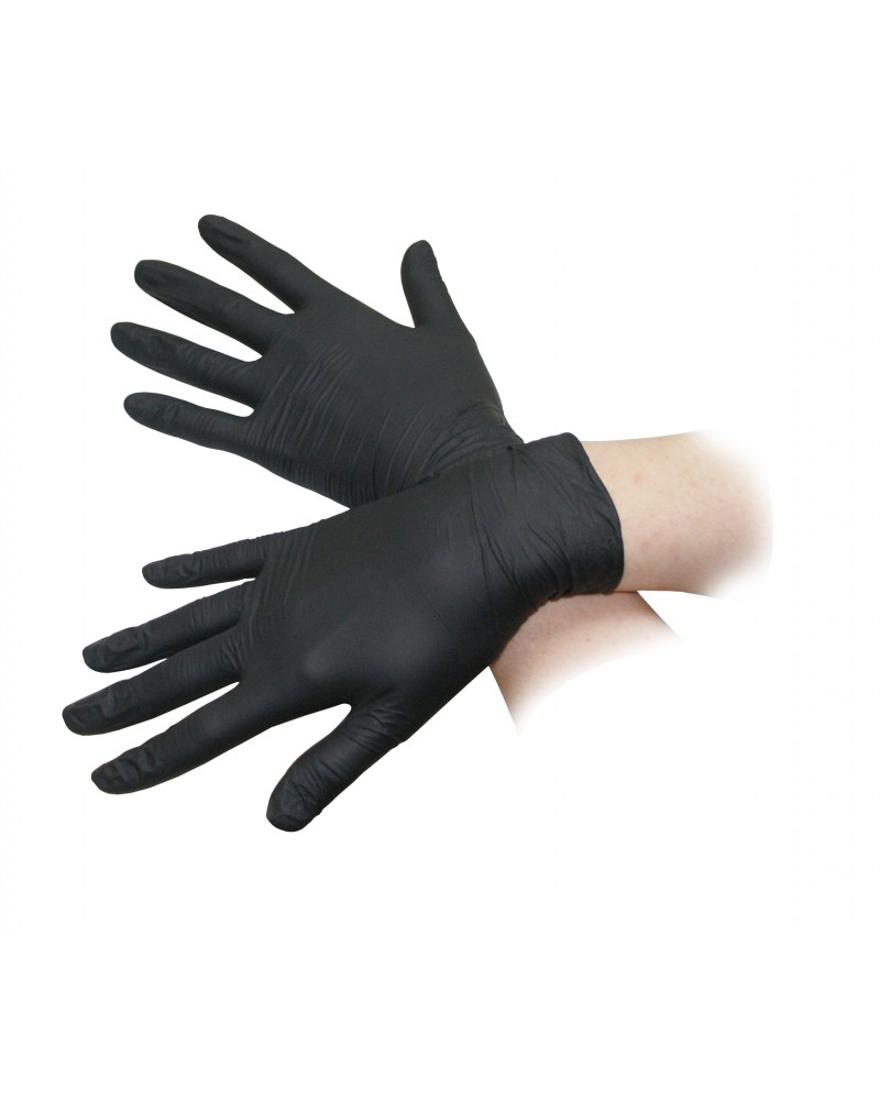 Rękawice nitrylowe, rozmiar S, M, L bezpudrowe, 100 szt. - Sklep medyczny / weterynaryjny - Sigmed