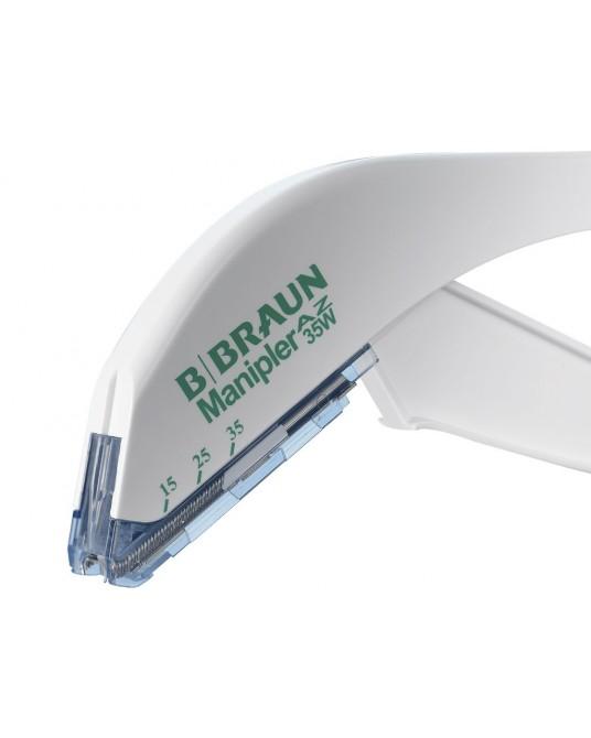 Urządzenie do zakładania klamer skórnych MANIPLER- stapler skórny