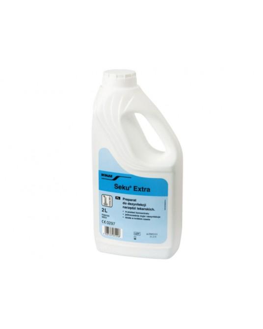 Klasyczny preparat do dezynfekcji narzędzi Seku Extra - Sklep medyczny / weterynaryjny - Sigmed