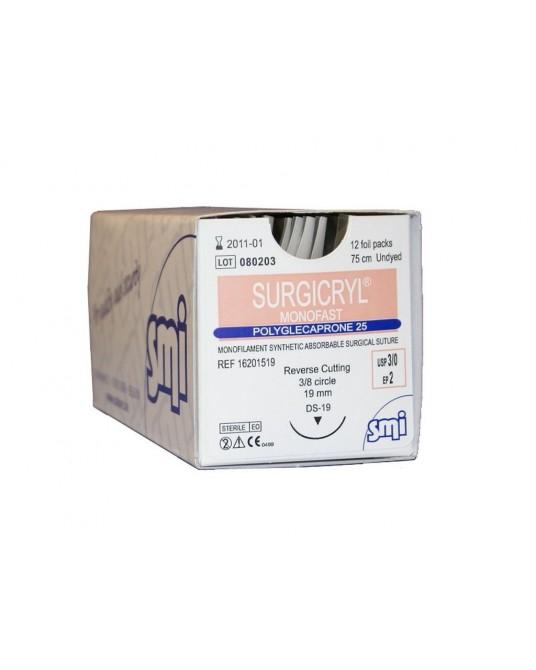 Surgicryl Monofast SMI, Igła stożkowa - Szwy wchłanialne - Sklep medyczny / weterynaryjny - Sigmed