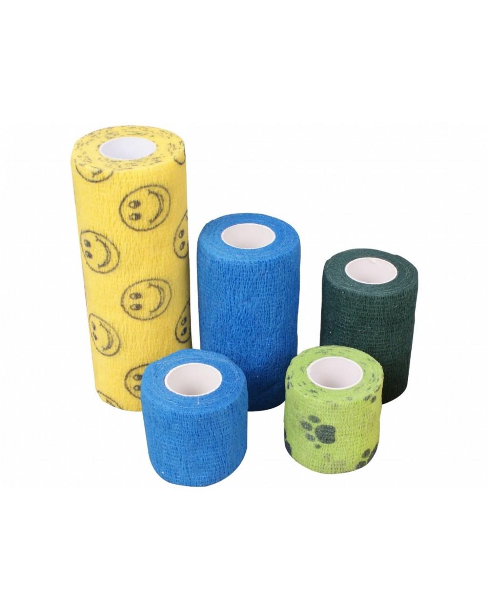 Bandaż niebieski, 4,5 m x 5 cm, 24 szt. - Sklep medyczny / weterynaryjny - Sigmed
