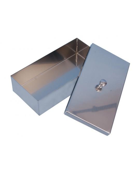 Pojemniki na instrumenty z przykrywką 16x10.0x3.0 cm - Sklep medyczny / weterynaryjny - Sigmed