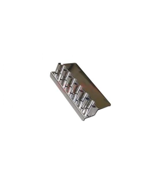 Stojak na ampułki ze stali nierdzewnej