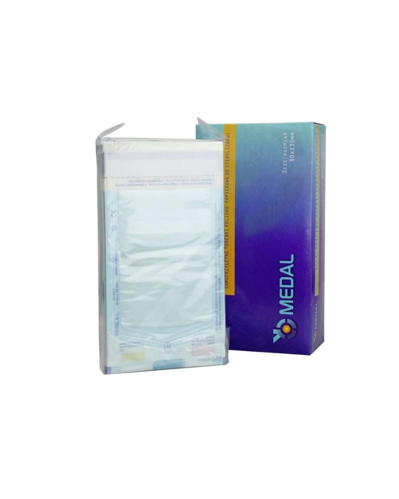 Torebki papierowo-foliowe do sterylizacji