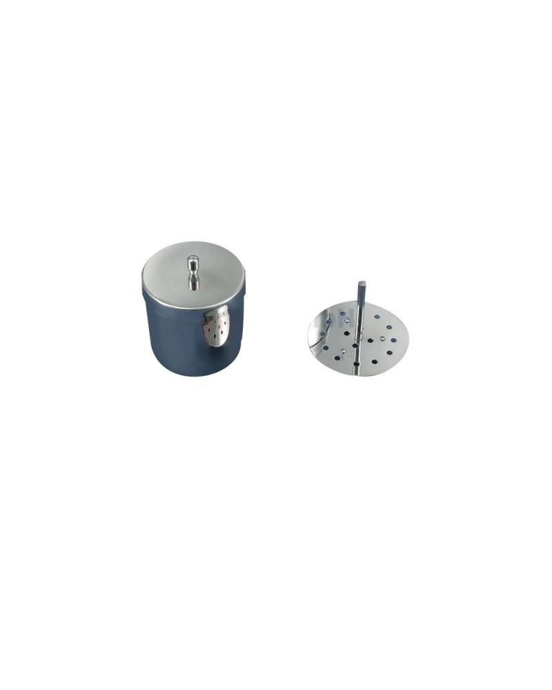 Pojemnik na 16 elektrod (śr. 4 mm) ze stali nierdzewnej
