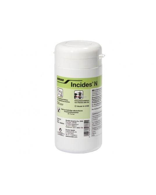 Husteczki dezynfekcyjne Incides N - wkład uzupełniający 90 chusteczek ECOLAB - Sklep medyczny / weterynaryjny - Sigmed