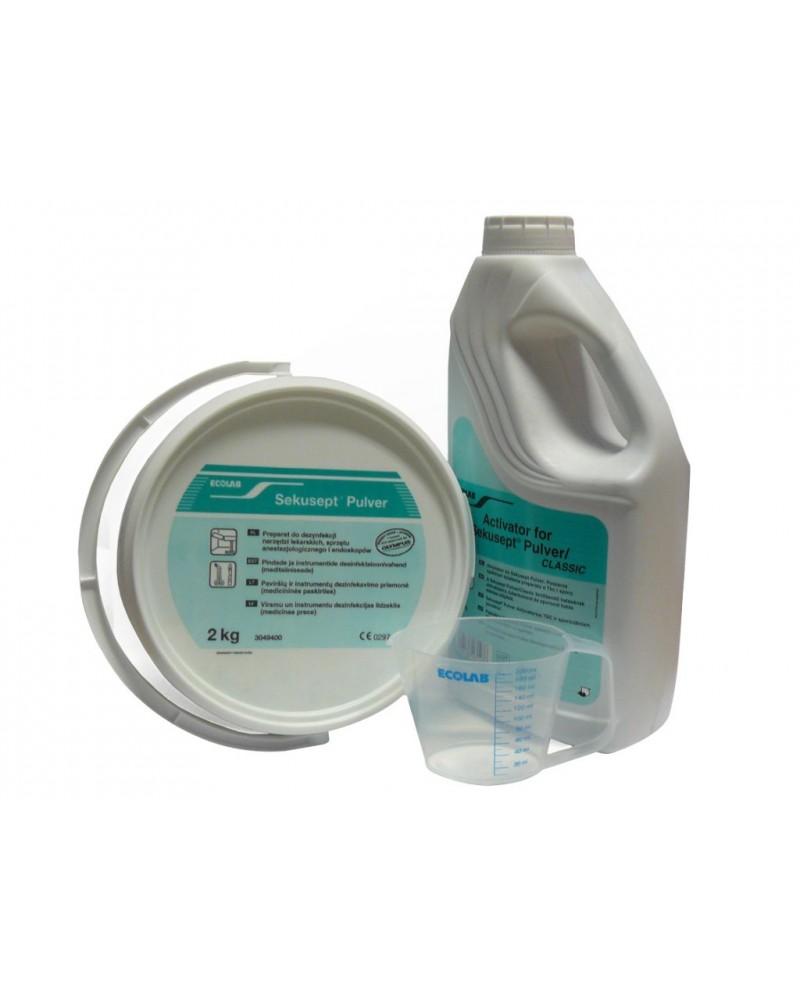 Sekusept Pulver + Aktywator, do mycia i dezynfekcji narzędzi  ECOLAB