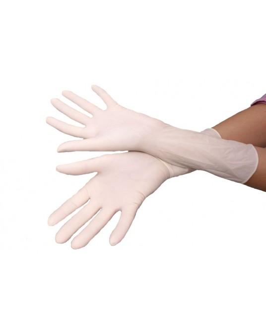 Rękawice chirurgiczne lateksowe pudrowane