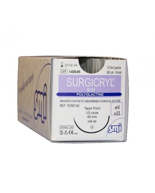 Surgicryl 910, igła okrągła