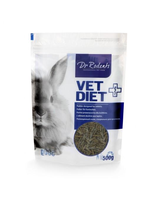 Karma specjalistyczna dla królika miniaturki Dr Rodents VetDiet