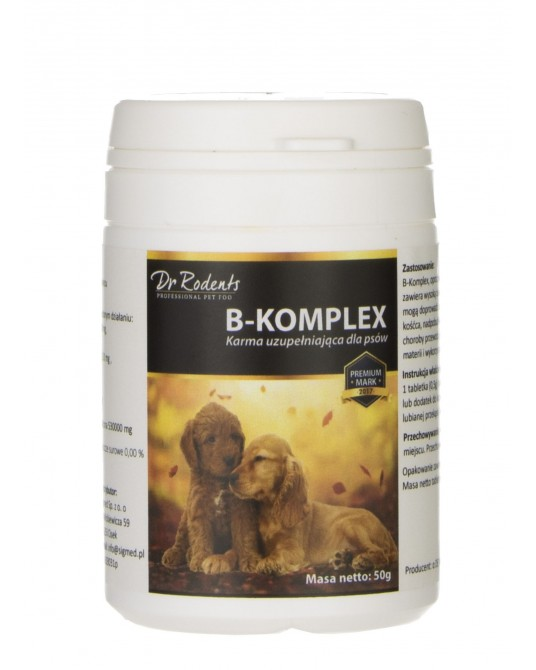 Karma uzupełniająca dla psów B-Komplex