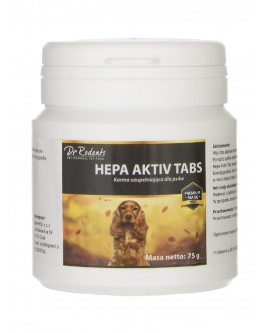 Karma uzupełniająca dla psów HEPA AKTIV TABS