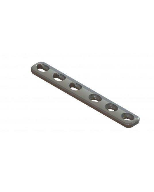 Płytka kompresyjna do wkrętów o średnicy 2,4 mm