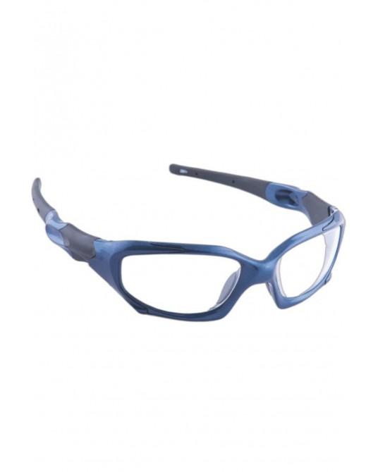 Okulary ochronne RTG model 1205 niebieskie