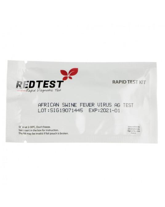 Test diagnostyczny na Afrykański pomór świń ASFV Ag