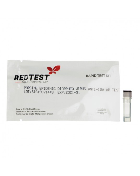 Test diagnostyczny na wirus epidemicznej biegunki świń PEDV-IgA Ab