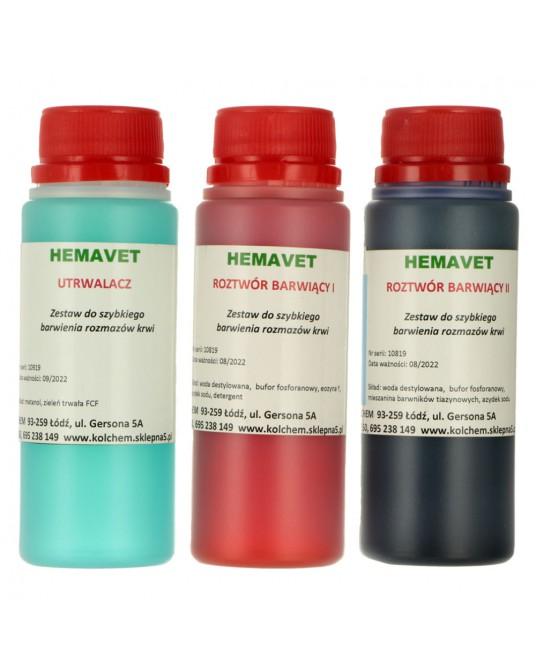 Zestaw barwników HemaVet