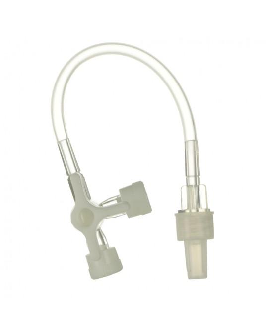 Kranik trójdrożny, KD-FLEX z przedłużeniem 10 cm - Sklep medyczny /weterynaryjny Sigmed