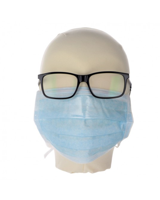 Maseczka operacyjna dla osób noszących okulary, 50 szt - Sklep medyczny / weterynaryjny - Sigmed