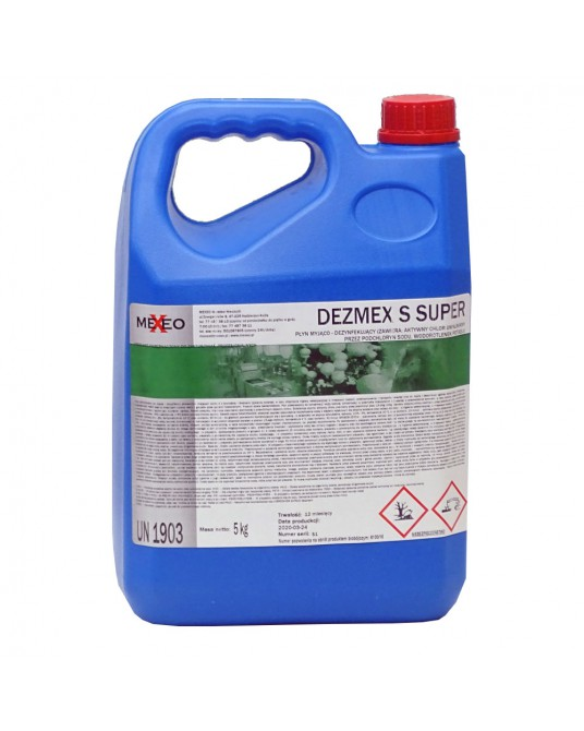 Płyn myjąco dezynfekcyjny do powierzchni DEZMEX S SUPER 1