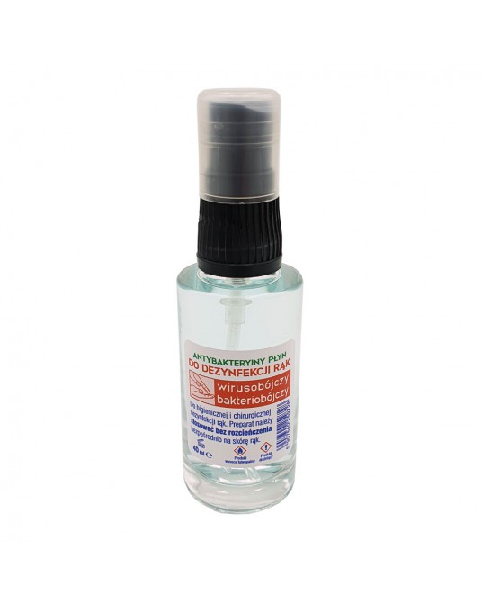 Płyn do dezynfekcji rąk 40ml - 70% alkoholu