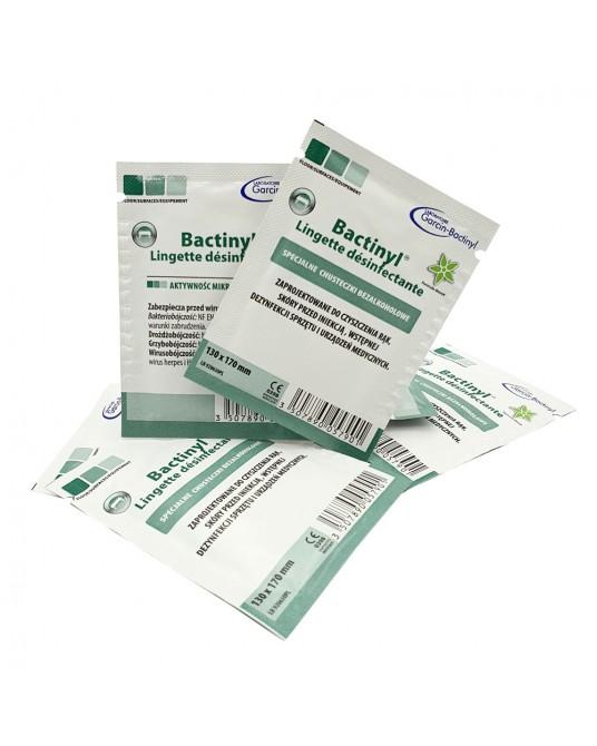 Chusteczki dezynfekujące BACTINYL do rąk, skóry i powierzchni, 13x17 cm