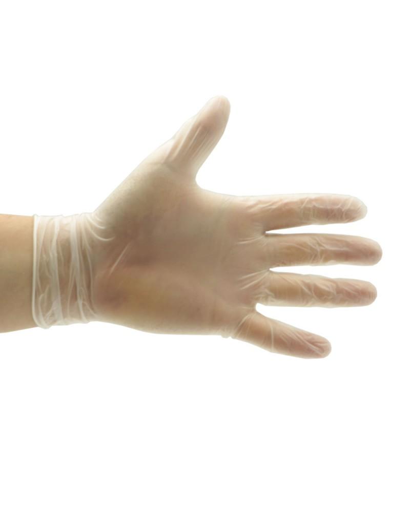 Rękawice vinylowe bezpudrowe Trendy PF 'L' (100szt)