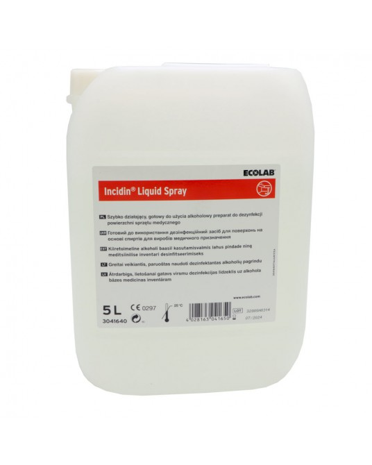 Preparat do szybkiej dezynfekcju powierzchni Incidin Liquid Spray 650 ml ECOLAB - Sklep medyczny / weterynaryjny - Sigmed