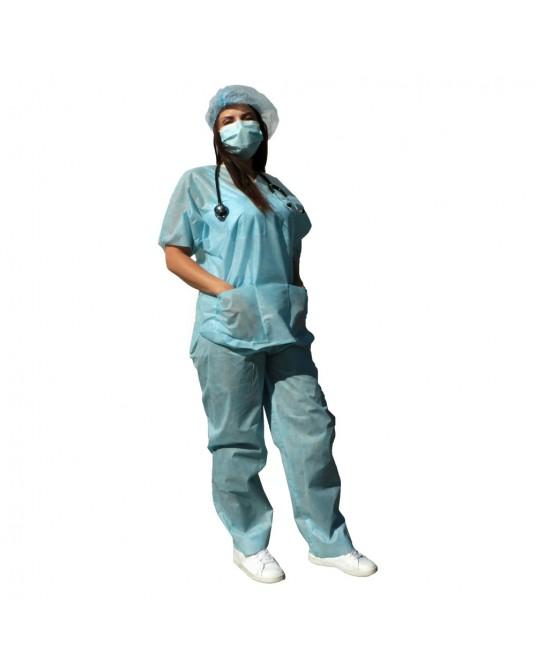Suit, Komplet medyczny, spodnie i koszula, SMS