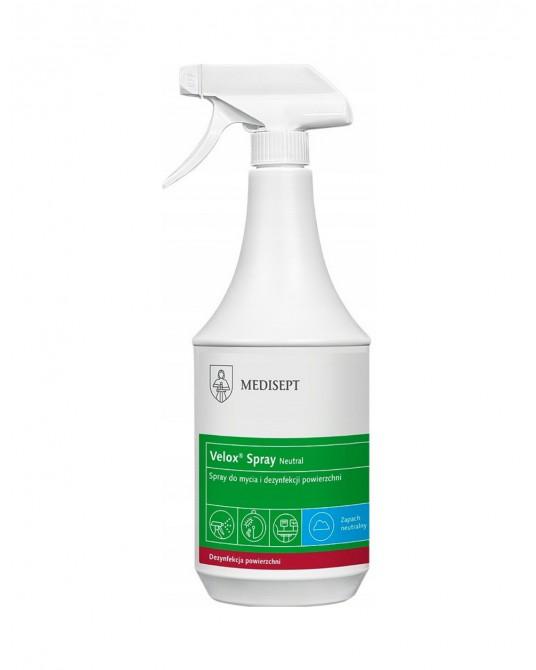 Velox Spray do dezynfekcji powierzchni i sprzętu 1L