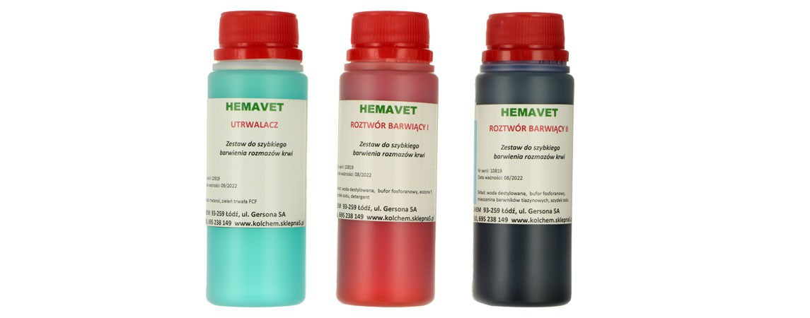 Barwienie hematologiczne
